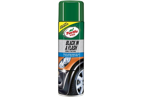 Turtle Wax Black In a Flash Gloss 500ml