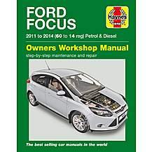 image of Haynes Ford Focus Petrol & Diesel (11-14) Manual