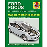 Haynes Ford Focus Petrol & Diesel (11-14) Manual
