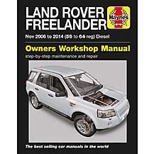 image of Haynes Land Rover Freelander Diesel (06-14) Manual