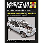 image of Haynes Land Rover Freelander Diesel (06-14) Manual