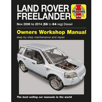 Haynes Land Rover Freelander Diesel (06-14) Manual