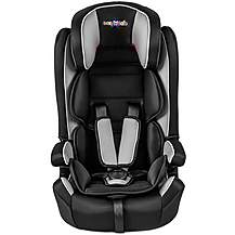 image of Cozy 'N' Safe Group 1/2/3 Child Car Seat Silver/Black