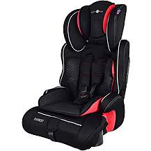 image of Cozy N Safe Group 1/2/3 Child Car Seat with Cupholders Grey/Black