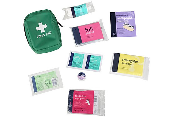 Halfords Essentials Compact First Aid Kit