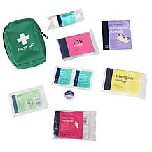 image of Halfords Essentials Compact First Aid Kit