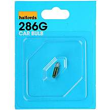 image of Halfords 286G Car Bulb x 1