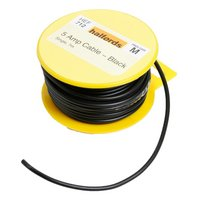 Halfords 5 Amp Cable Black HEF712