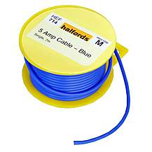 image of Halfords 5 Amp Cable Blue HEF714