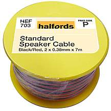 image of Halfords Standard  Speaker Cable HEF703