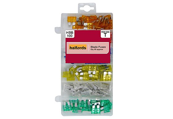 Halfords Assorted Blade Fuses HBB100