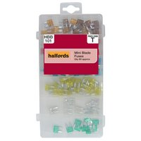 Halfords Assorted Mini Blade Fuses HBB101