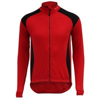 Altura Slipstream Performance Long Sleeved Jersey Black & Red - Large