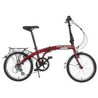 Carrera Intercity Folding Bike - Red