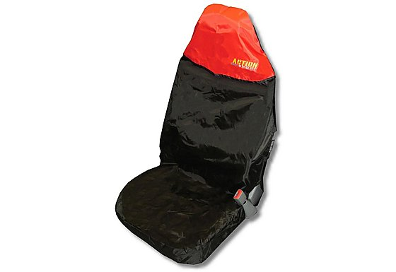 Action Sport Seat Protector 'Front' - Red/Black