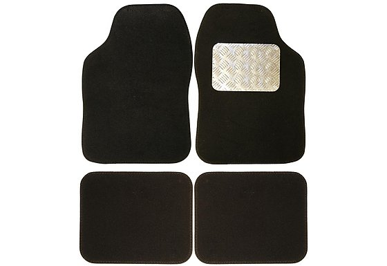Ripspeed Carpet Car Mats with Aluminium Heel Plate