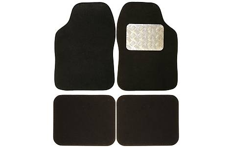 image of Ripspeed Carpet Car Mats with Aluminium Heel Plate