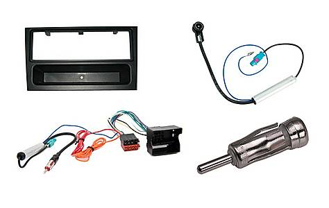 image of Armour Autoleads Complete Fitting Kit for Single DIN Stereos - Vauxhall