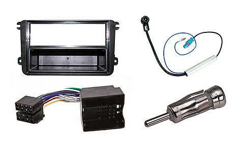 image of Armour Autoleads Complete Fitting Kit for Single or Double DIN Stereos - Volkswagen