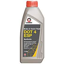 image of Comma DOT 4 ESP Brake Fluid 1L