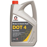 Comma DOT 4 Brake Fluid 5L