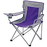 Halfords Folding Grey Arm Chair