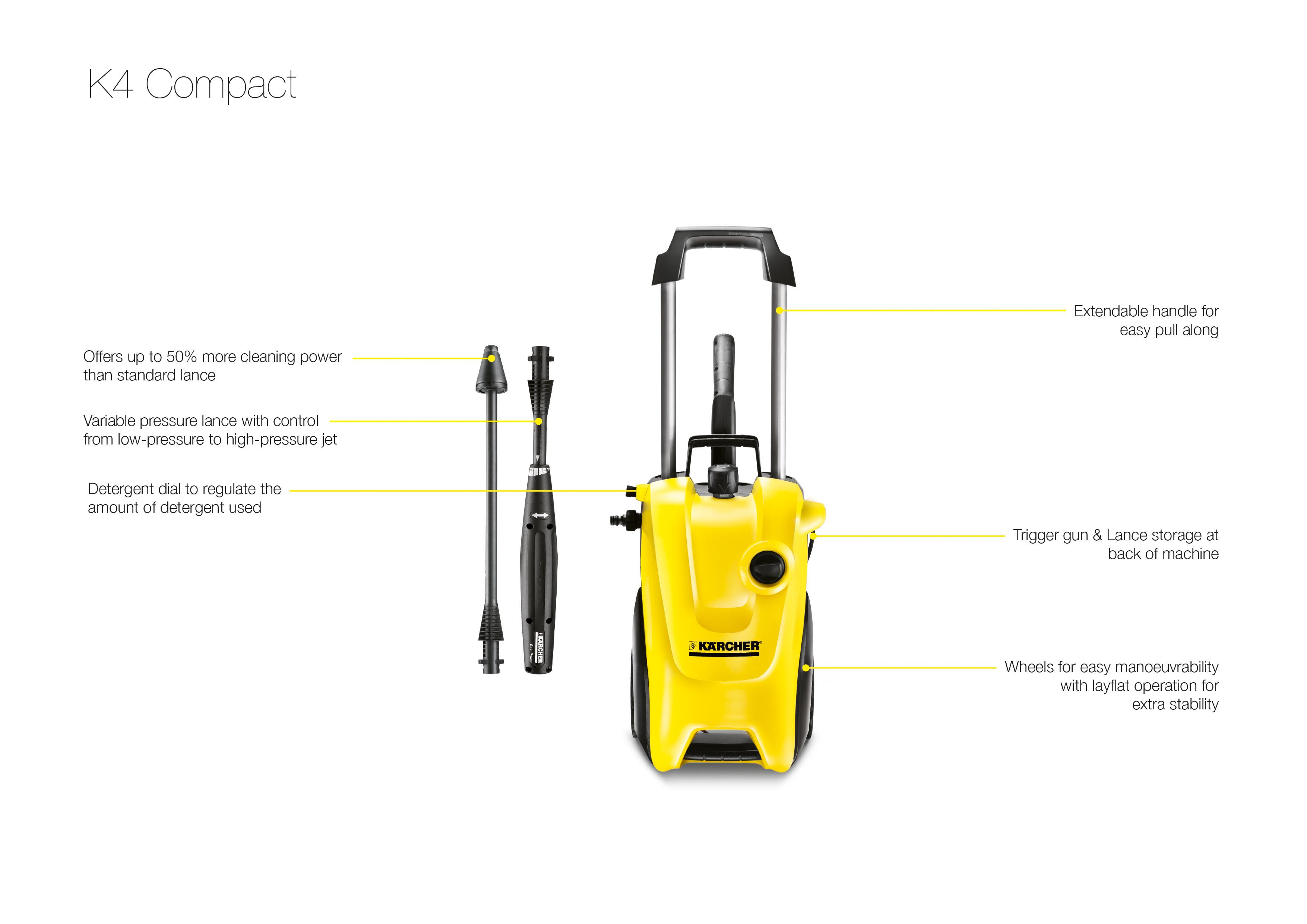 karcher k compact pressure washer