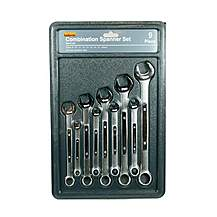 image of Halfords 9 piece Combination Spanner Set 2013