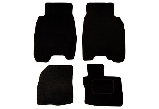 Halfords (SS1853) Honda Civic Car Mats (5 DR/06 on) BLK