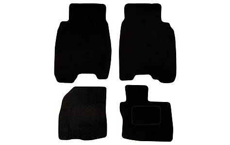 image of Halfords (SS1853) Honda Civic Car Mats (5 DR/06 on) BLK