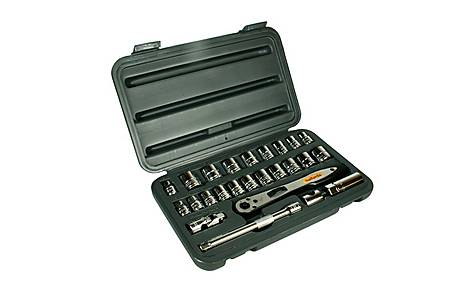 image of Halfords 25 Piece Socket Set 3/8""