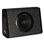 "image of Kicker 10"" Slim Active Subwoofer Enclosure"