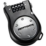 image of Kryptonite Kryptoflex Retractor R2 Pocket Combo Cable Bike Lock