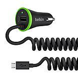Belkin 2.4 Amp Micro USB & USB Car Charger