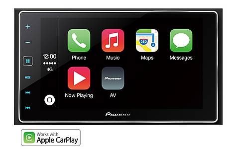 image of Pioneer SPH-DA120 Car Stereo with Apple CarPlay