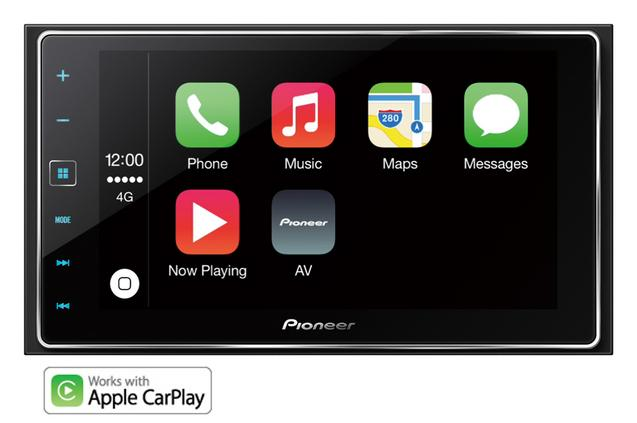 Halford's Pioneer SPH-DA120 Car Stereo with Apple CarPlay