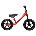 "image of Kiddimoto Red Super Junior Balance Bike - 12"" Wheel"