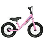 image of Kiddimoto Pink Super Junior Max Balance Bike