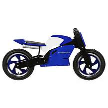 image of Kiddimoto Blue & White Superbike Balance Bike