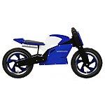 image of Kiddimoto Blue & White Superbike Balance Bike