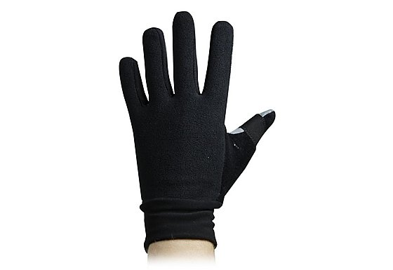 BikeHut Fleece Cycling Gloves -  Large