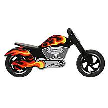 image of Kiddimoto Flames Chopper Balance Bike