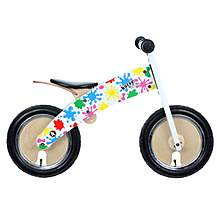 image of Kiddimoto Splatz Kurve Balance Bike