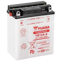 image of Yuasa YB12A-A Powersport Motorcycle Battery