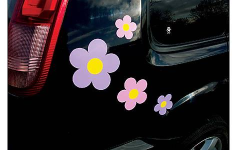 image of Storm Graphics 'Flowers' Car Stickers