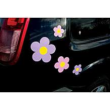 image of Storm Graphics Flowers Car Stickers