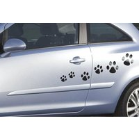 Storm Graphics Paw Prints Car Stickers