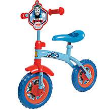 image of Thomas & Friends 2-in-1 Training Bike - 10""