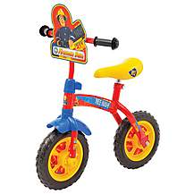 image of Fireman Sam 2-in-1 Training Bike - 10""