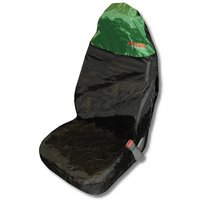 Action Sport Car Seat Protector Front - Green/Black